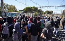 Restablecida la circulación de trenes entre Sant Vicenç de Calders y Plana