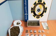 Detingut per vendre marihuana al mig del carrer a Reus