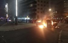 Manifestantes vuelven a levantar barricadas por las calles de Tarragona
