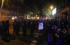 Presó sense fiança per a sis detinguts a Barcelona pels aldarulls dels últims dies