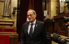 Un CDR assegura que Torra tenia plans de tancar-se dins el Parlament el dia de la sentència