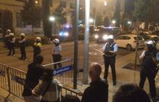 Torna la tensió a les portes de la comissaria de la Policia Nacional a Reus