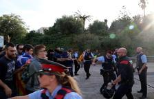 Vint-i-sis ferits durant les protestes d'avui, un per contusió ocular