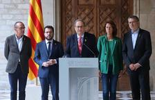 Torra reclama a Sánchez obrir immediatament una «taula de negociació sense condicions» per a «una sortida política»