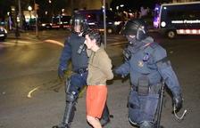 Suben a treinta los encarcelados por los disturbios a raíz de la sentencia del 1-O