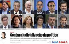 Més de 200 personalitats portugueses demanen «l'amnistia immediata» per als líders independentistes