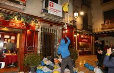 La protesta contra la sentència a Reus es trasllada davant la seu del PSC