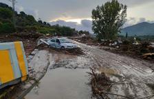 Una quinzena de carreteres es mantenen tallades a Tarragona, la majoria per inundacions