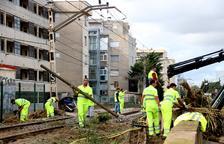 Restablerta la circulació de trens entre l'Hospitalet de l'Infant i Salou