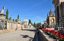El cementiri de Tarragona, preparat per la festivitat de Tots Sants
