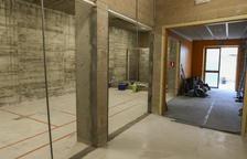 En marxa les obres d'adequació de la nova sala d'activitats al Pavelló Olímpic de Reus