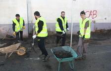 El Ayuntamiento de Montblanc hace un llamamiento a los vecinos para ayudar en las tareas de limpieza por la riada
