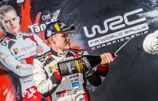 L'estonià Ott Tänak es proclama a Catalunya Campió del Món FIA de Ral·lis