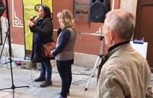Valls per la Llibertat homenatja a Joan Tortosa