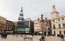 L'Ajuntament de Reus licita el muntatge de l'arbre de Nadal del Mercadal