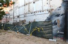 Adéu al mural de l'entrada franquista de Reus