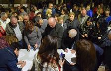 Concentracions veïnals a Móra d'Ebre per rebutjar l'increment del 20% dels impostos municipals