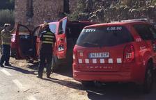 Bomberos de Zaragoza ayudan a buscar a los tres desaparecidos en el río Francolí