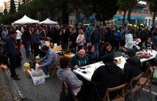 Tsunami Democràtic ocupa l'avinguda Roma amb activitats lúdiques durant la jornada de reflexió