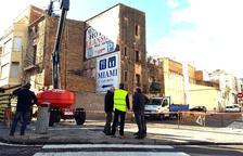 La Ràpita enderroca les cases velles del carrer Constància per eixamplar el vial