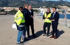 Ports inverteix 548.000 euros en la millora del moll comercial del port de la Ràpita