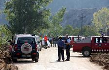 Bombers rescatan el cuerpo encontrado en el cauce del Francolí y los Mossos empiezan las tareas de identificación